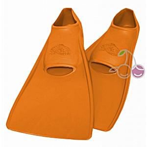 Ласты для бассейна резиновые детские размеры 22-24 оранжевые СВИМСЕЙФ (SwimSafe) Германия