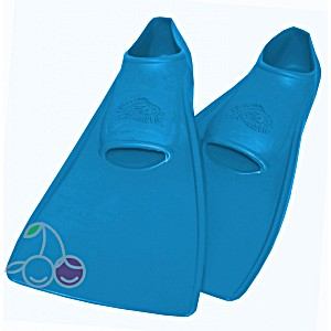 Ласты для бассейна резиновые детские размеры 30-33 синие СВИМСЕЙФ (SwimSafe) Германия