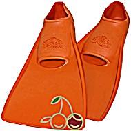 SwimSafe оригинал Ласты детские каучуковые для бассейна размер 30-33 оранжевые СВИМСЕЙФ - Германия